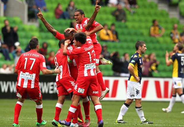 Story of their season? Engelaar scores from half-way ... in a defeat