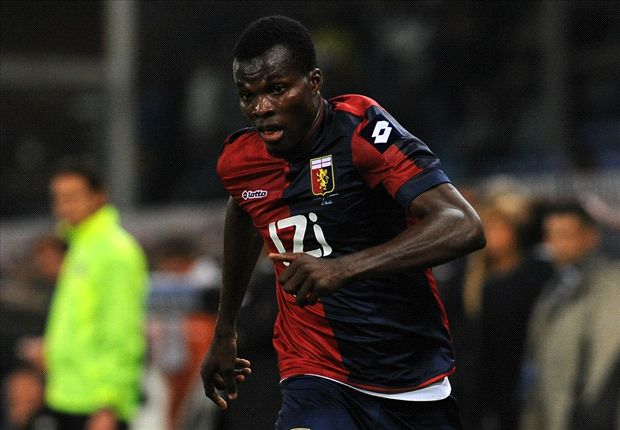 Genoa no longer selling Ghana's Cofie