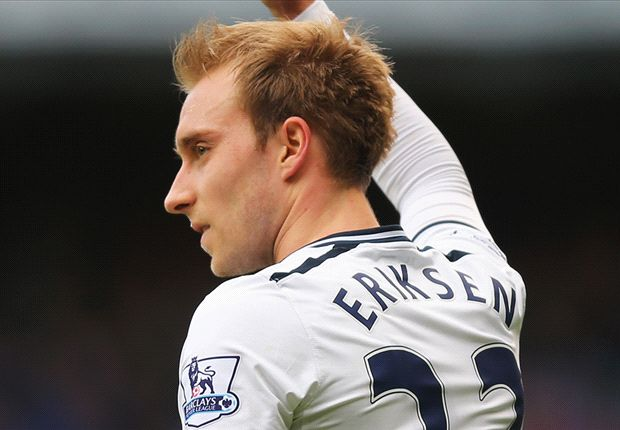 'I have to drag him off the training pitch' - Tottenham boss Sherwood hails Eriksen commitment