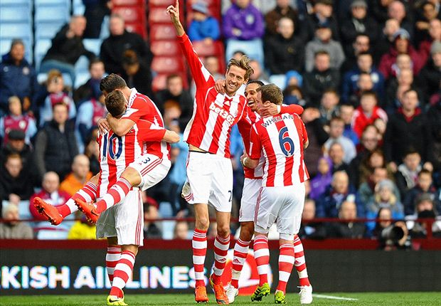 Aston Villa 1-4 Stoke City: Potters ease relegation fears after first-half comeback
