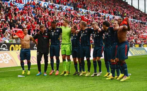Bundesliga champions Bayern Munich