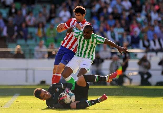 Real Betis 0-2 Atletico Madrid: Gabi & Costa send Rojiblancos top of the table