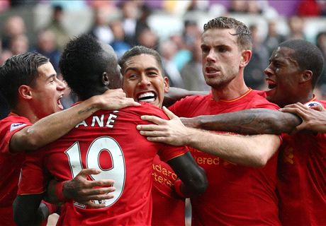 Ratings: Swansea City 1-2 Liverpool