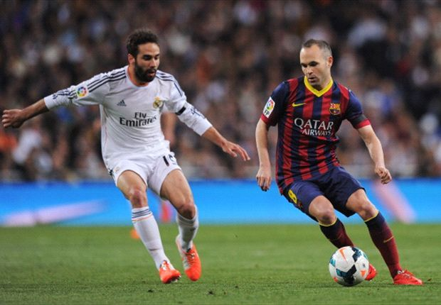Barça wint zinderende Clásico in Madrid