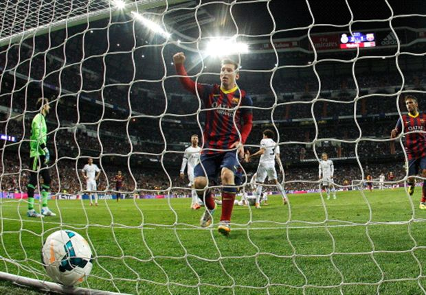 Real Madrid 3-4 Barcelona: Messi hat-trick settles enthralling Clasico clash