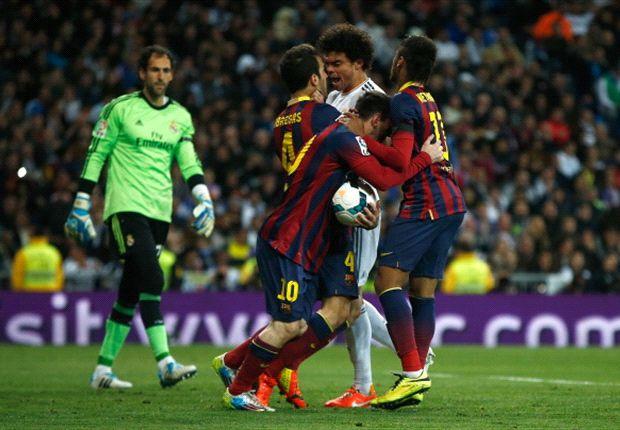 Leo ya es el máximo goleador de los Clásicos