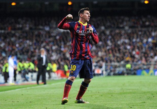 Messi pencetak gol terbanyak di Clasico