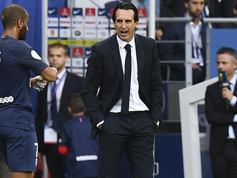PSG-Bordeaux - Ambiance, Di Maria, Verratti : la réaction d'Unai Emery