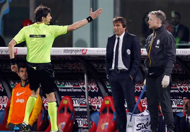 Conte: I was sent off as a warning to the players