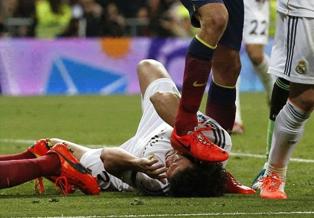If I stamped on Pepe he'd have a size-45 mark on his head - Busquets