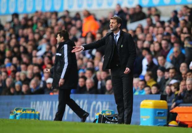 Sherwood salutes spirited Tottenham