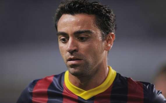 Xavi, centrocampista del FC Barcelona