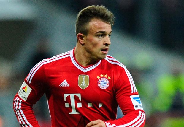 Shaqiri named in young Switzerland World Cup squad