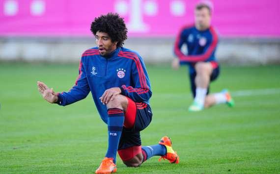 Bayern Munich's Dante.