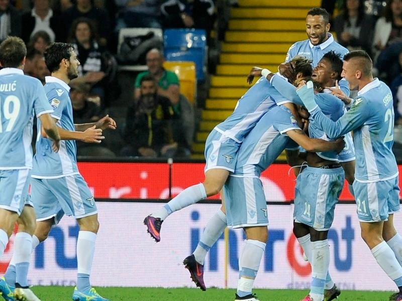 Udinese-Lazio 0-3: Tutto facile per l'Aquila, Immobile non sbaglia