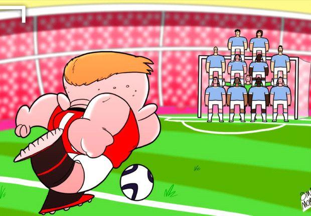 Wayne Rooney espera tumbar la muralla del Manchester City