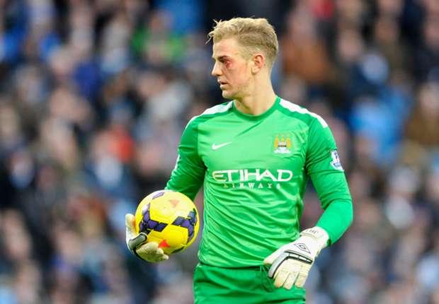 Manchester City goalkeeper Joe Hartq