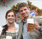 Bayern de Munique visita a Oktoberfest!
