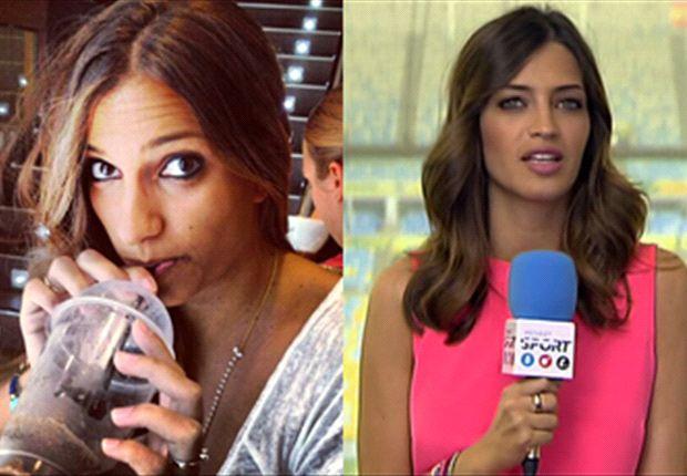 La mujer de López no tiene química con la periodista deportiva.