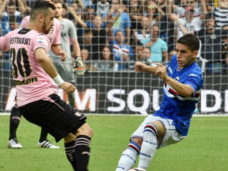 VIDEO - Sampdoria-Palermo 1-1, goal e highlights