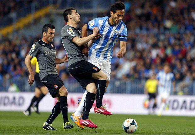 Málaga 1-2 Espanyol: Sergio García fastidia el día de Pablo Pérez
