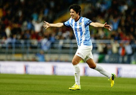 Boca loan Malaga's Perez for 18 months