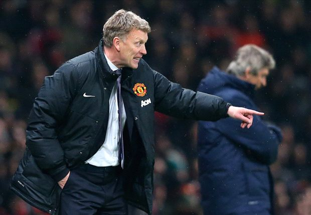 Manchester United 'a couple of levels' below City, admits Moyes