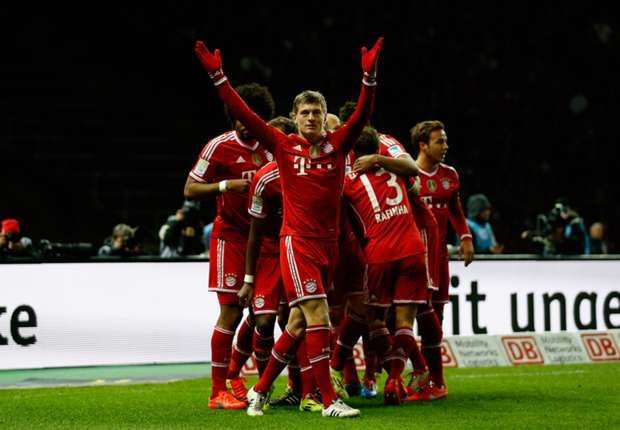 Hertha Berlin 1-3 Bayern Munich: Bavarians clinch Bundesliga title in record time
