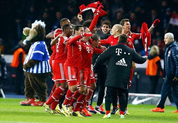 Bayern Munich demolió todo tipo de records y es campeón siete fechas antes