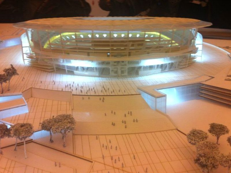Roma unveil plans for new 60000 seat stadium inspired by the Colosseum [Pictures]