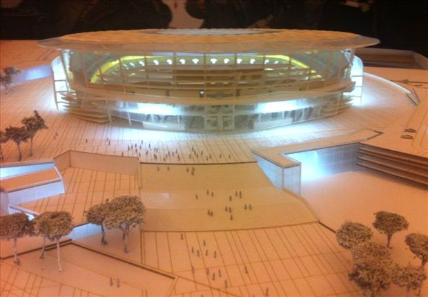 Roma unveil plans for 'scary' new 52,000-seater stadium