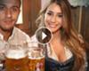 VIDEO - Oktoberfest met voetbalvrouwen van Bayern-spelers
