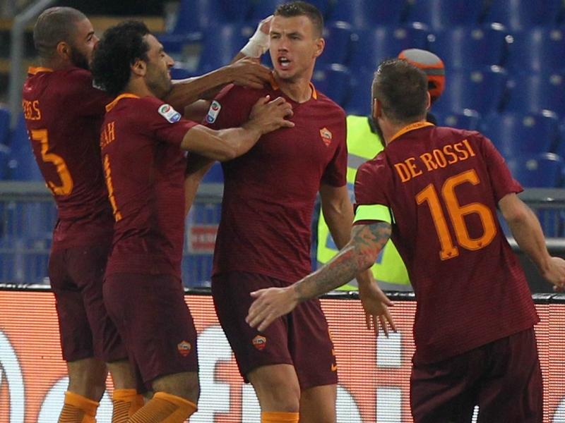 Roma verso Napoli: si punta sul duo Salah-Dzeko, lo dicono i numeri