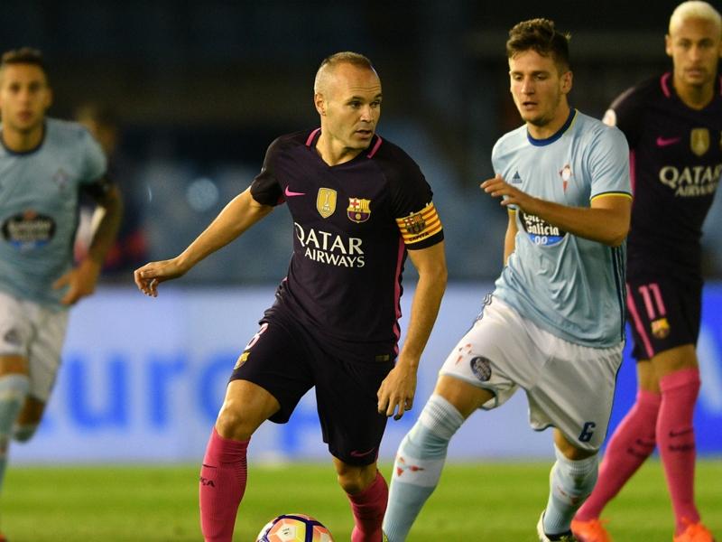 Barça, Iniesta frustré de perdre la tête de la Liga