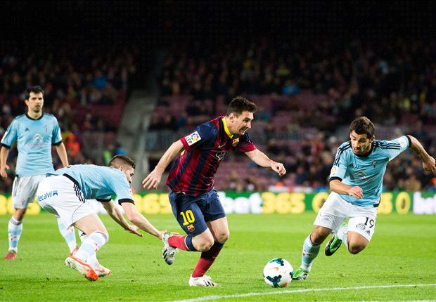 Leo Messi convirtió uno de los tantos para el triunfo blaugrana.