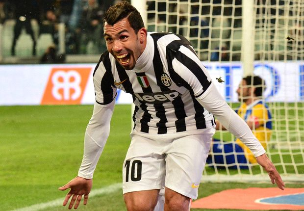 Tevez feels at home alongside 'formidable' Pirlo