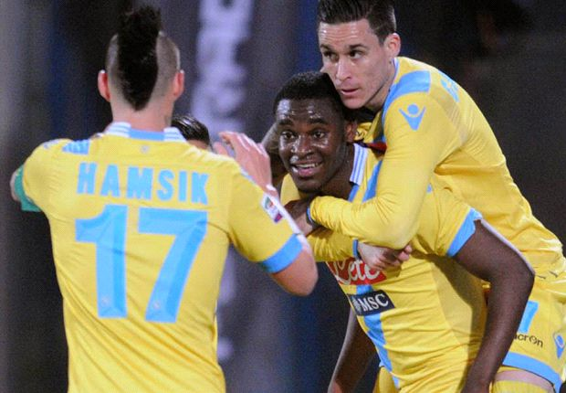 Catania 2-4 Napoli: Benitez's men propel past rock-bottom hosts