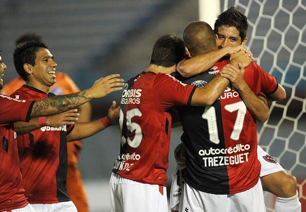Newell's venció 4-2 a Nacional en Montevideo