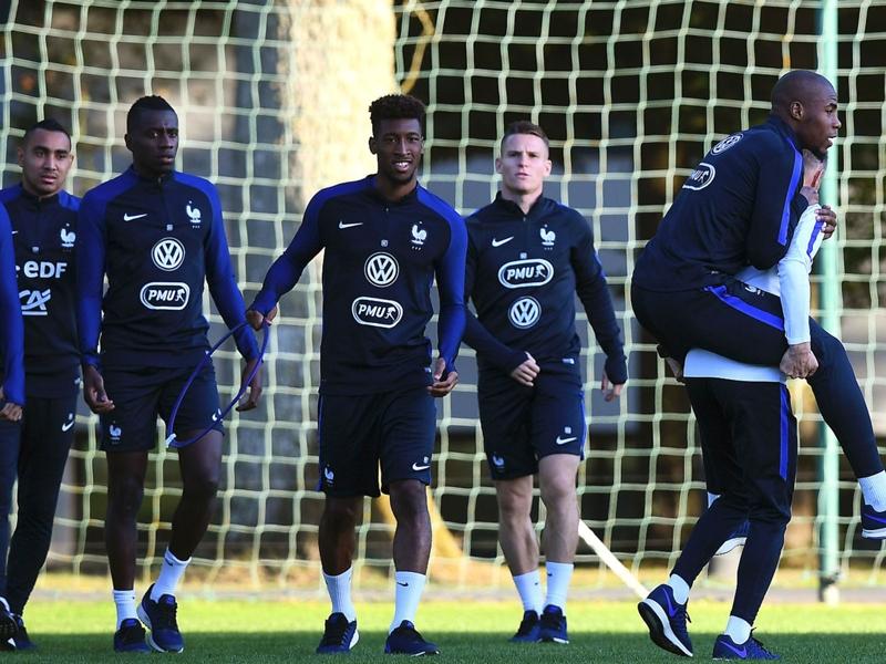 Equipe de France, première pour Kimpembe, pas de Varane ni Kanté