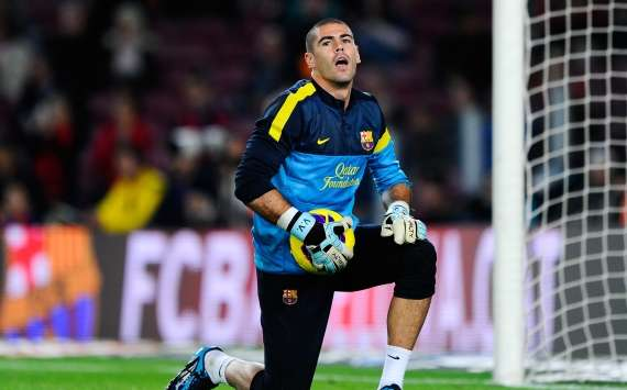 Victor Valdés ha sido operado de la rodilla y le esperan 7 meses de baja