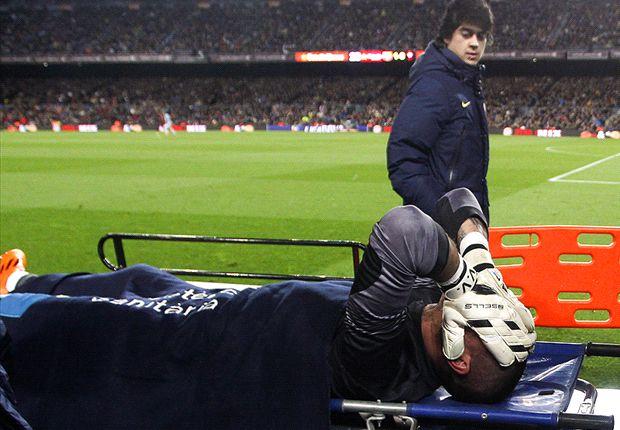 Víctor Valdés será operado el 31 de marzo en Alemania