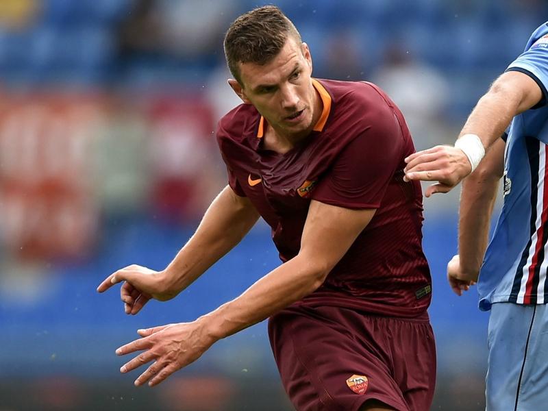 La Roma ritrova Dzeko: ma i goal arrivano solo in casa