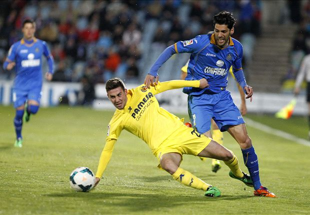 Getafe 0-1 Villarreal: Jeremy Perbet sentencia sin salir del vestuario