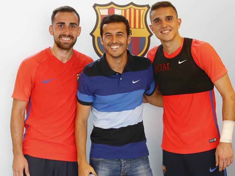 Chelsea, Pedro de retour au Barça