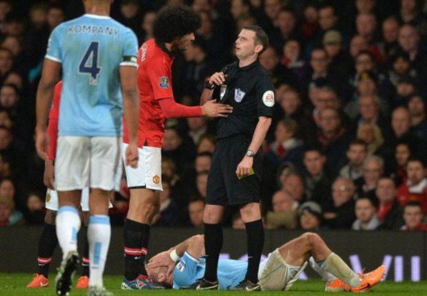 FA looking into Fellaini spitting incident