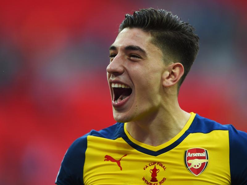 """Arsenal, Cazorla : """"Bellerin est le latéral droit du futur"""""""