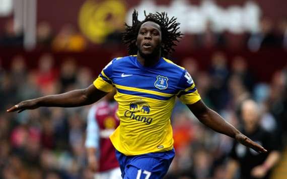 Everton forward Romelu Lukaku
