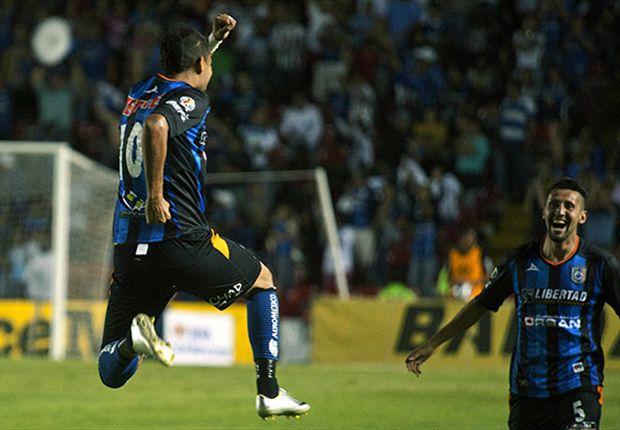 Liga Bancomer Mx: Querétaro 2-1 Xolos   El gallo cantó fuerte