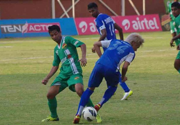Salgaocar FC 1-2 Rangdajied United FC: Martins' strike wins three crucial points for the visitors