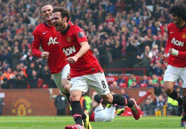 Manchester United 4-1 Aston Villa: Rooney & Mata inspire comeback win